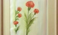 35x45cm Kağıt üzeri yağlı boya